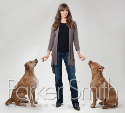Photograph of celebrity dog trainer Victoria Stilwell
