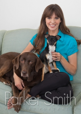 Portrait Photograph of celebrity dog trainer Victoria Stilwell