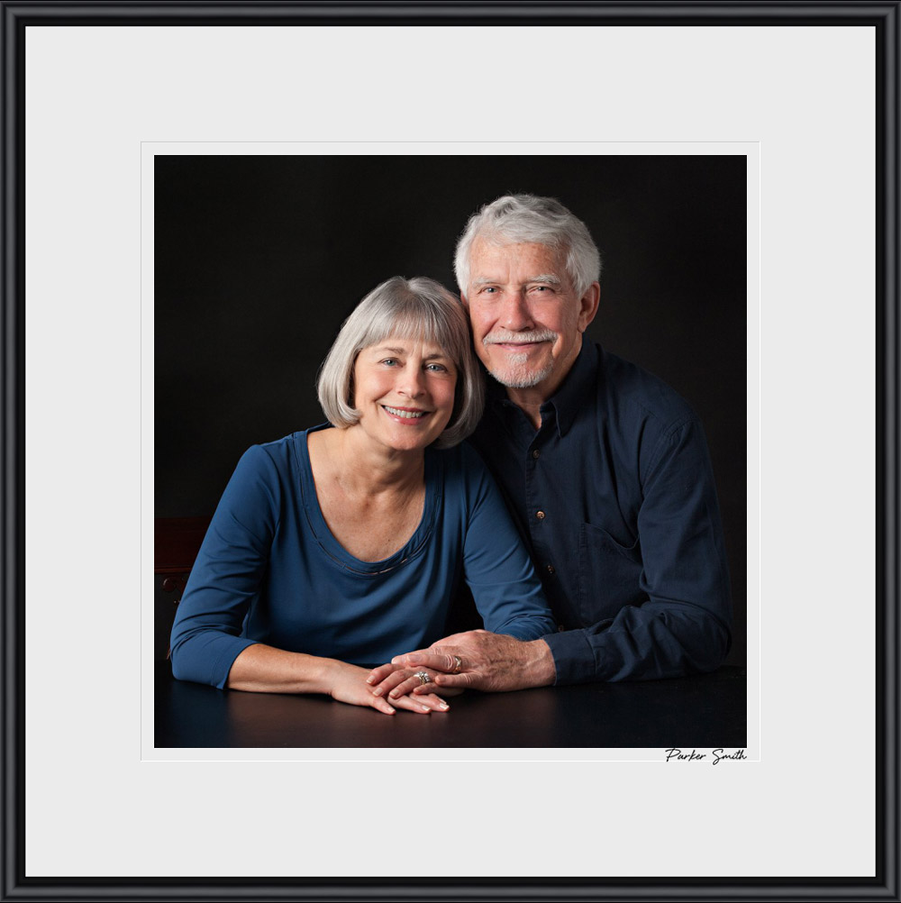 Portrait Of A Husband And Wife Atlanta family and childPortrait Of A Husband And Wife