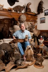 Pat, Taxidermy Collector